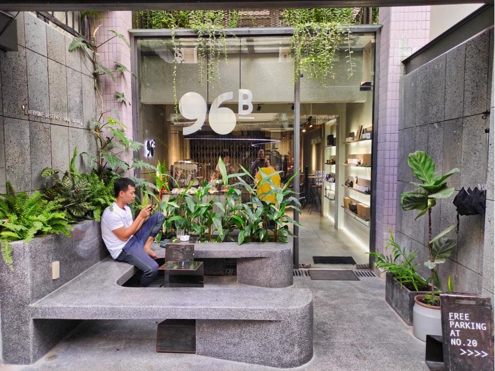 96B Cafe & Roastery Exterior
