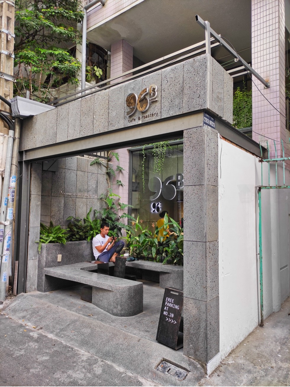 96B Cafe & Roastery Frontage