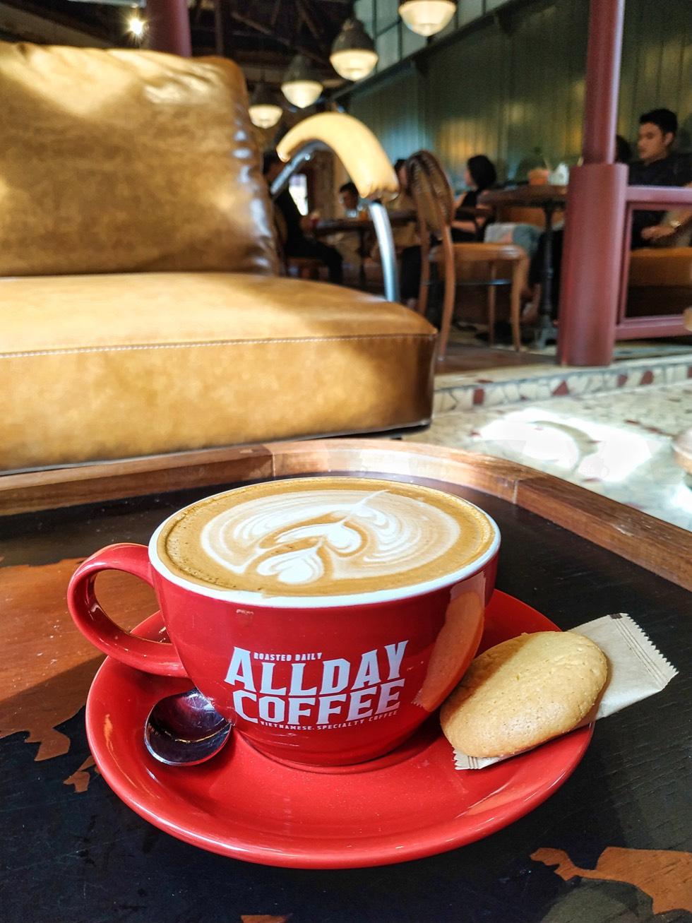 All Day Coffee Closeup