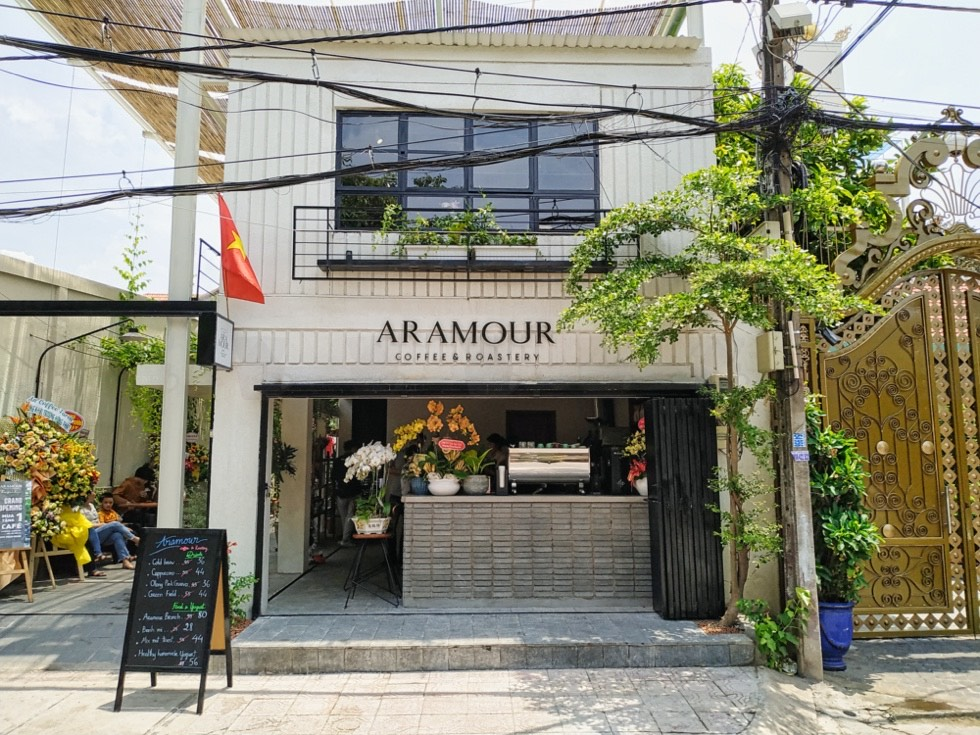 Aramour Coffee & Roastery - Frontage