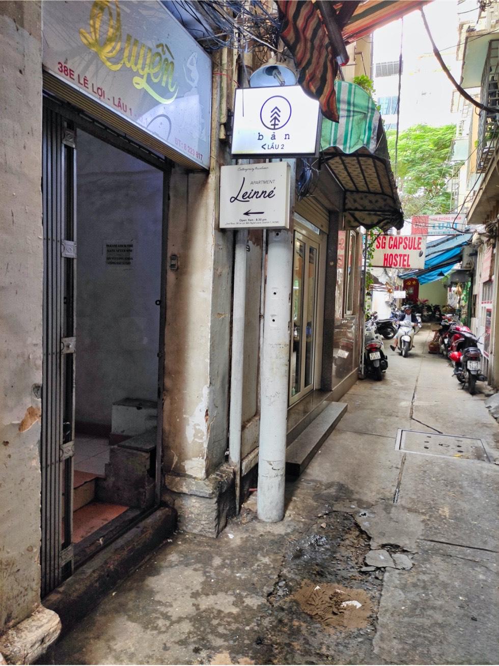 BAN Ca Phe Alley