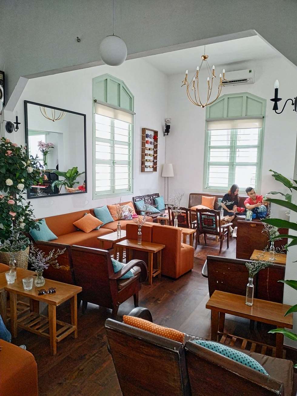 Cafe Vừng Interior