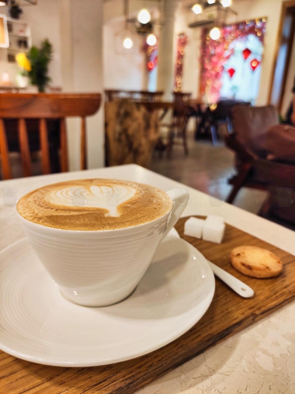 Chanchamayo Coffee Closeup