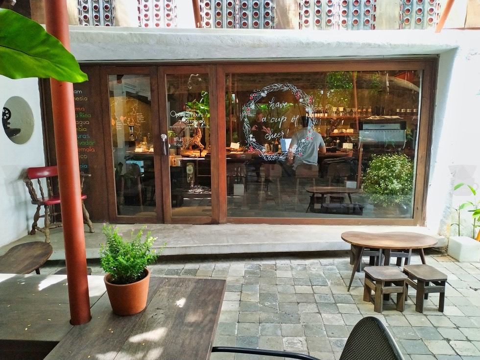 Chill Corner Courtyard