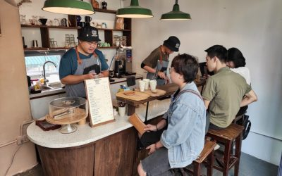 CHỐN 2 Manual Coffee Maker