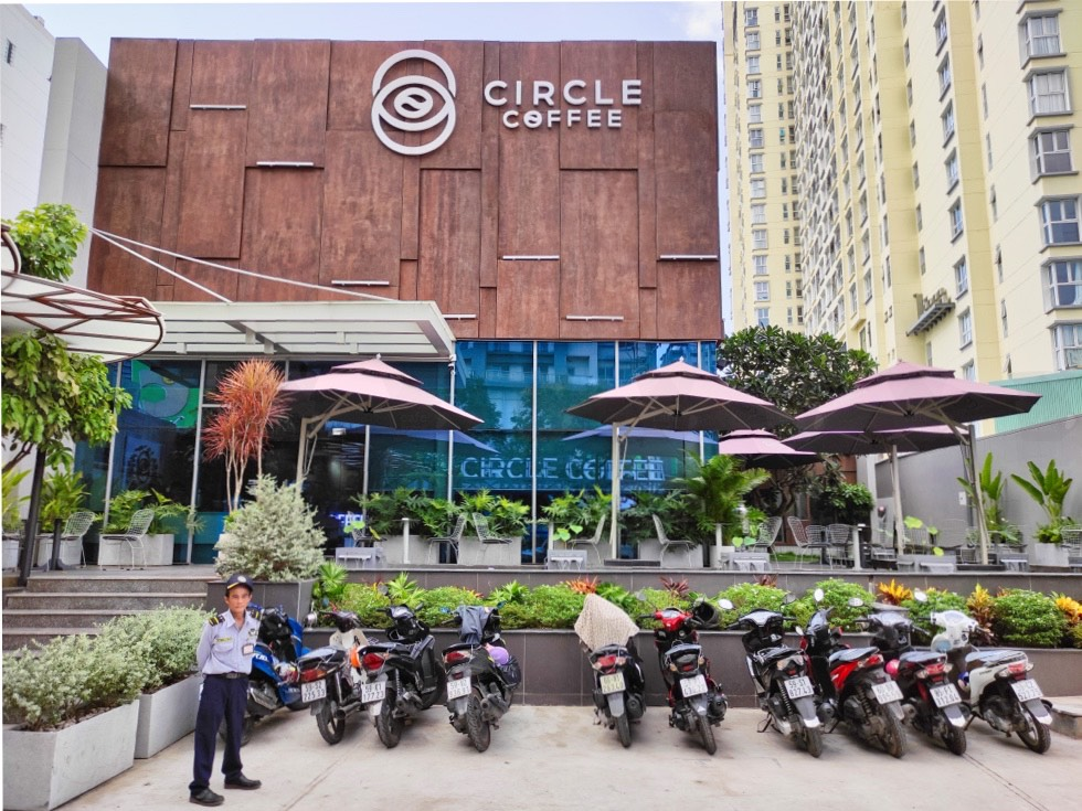 Circle Coffee Frontage