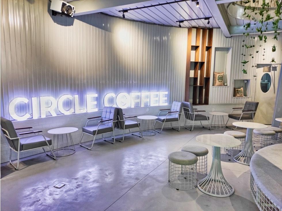 Circle Coffee Modern