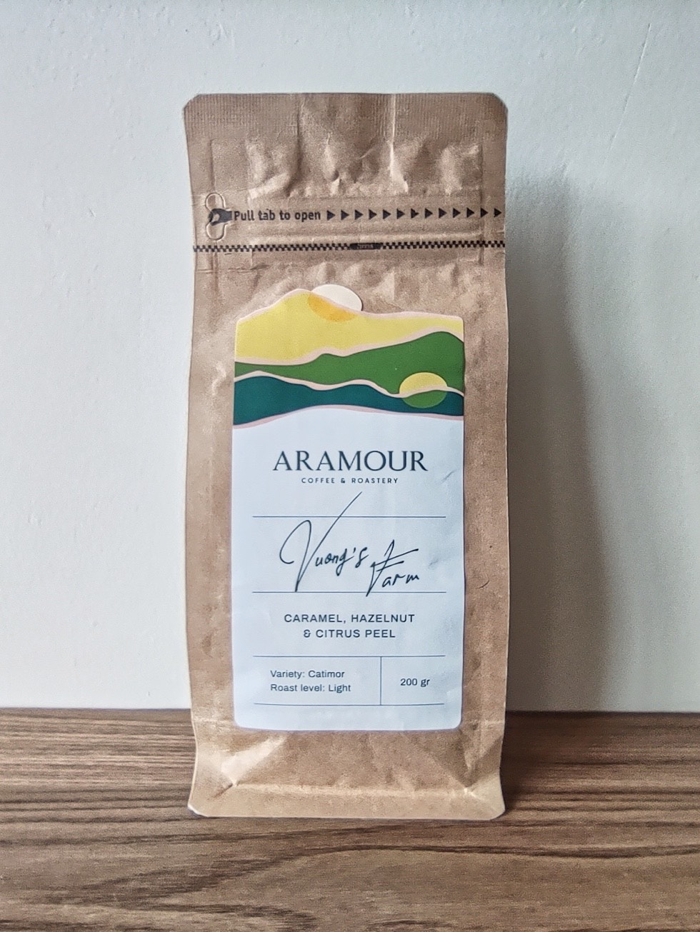 Aramour Coffee & Roastery Vuong's Farm