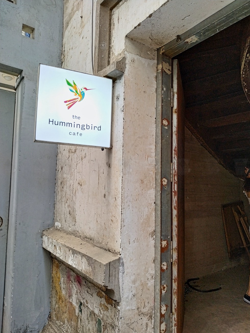 The Hummingbird Cafe Entrance