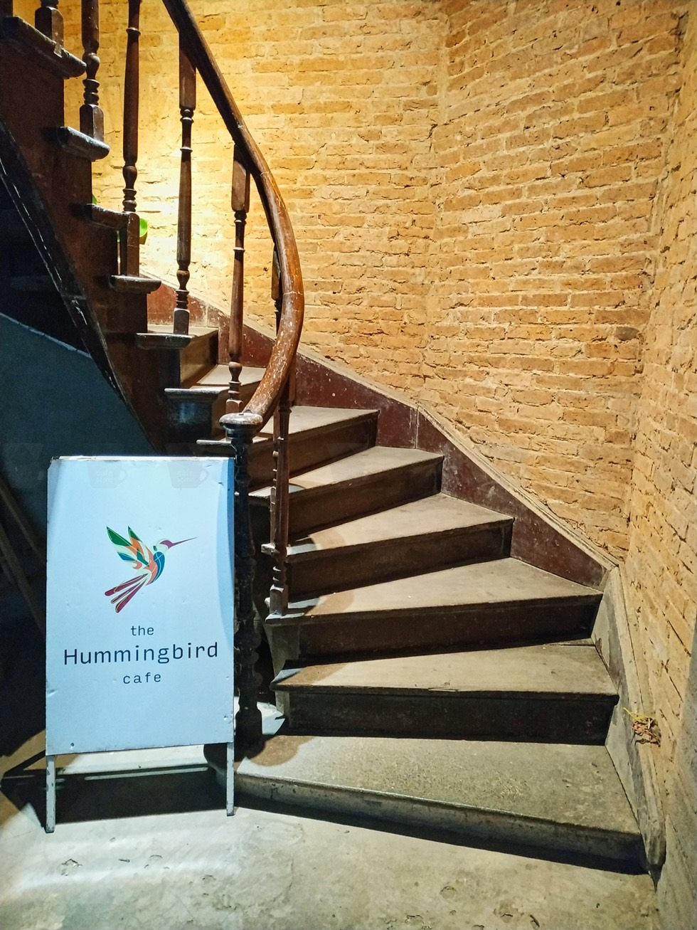 The Hummingbird Cafe Stairs