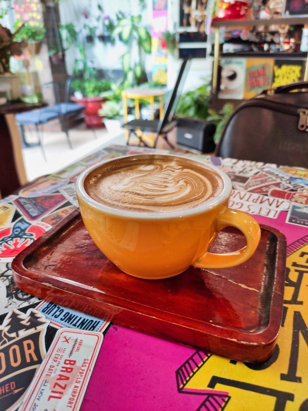 Hyper Coffee Roastery Closeup