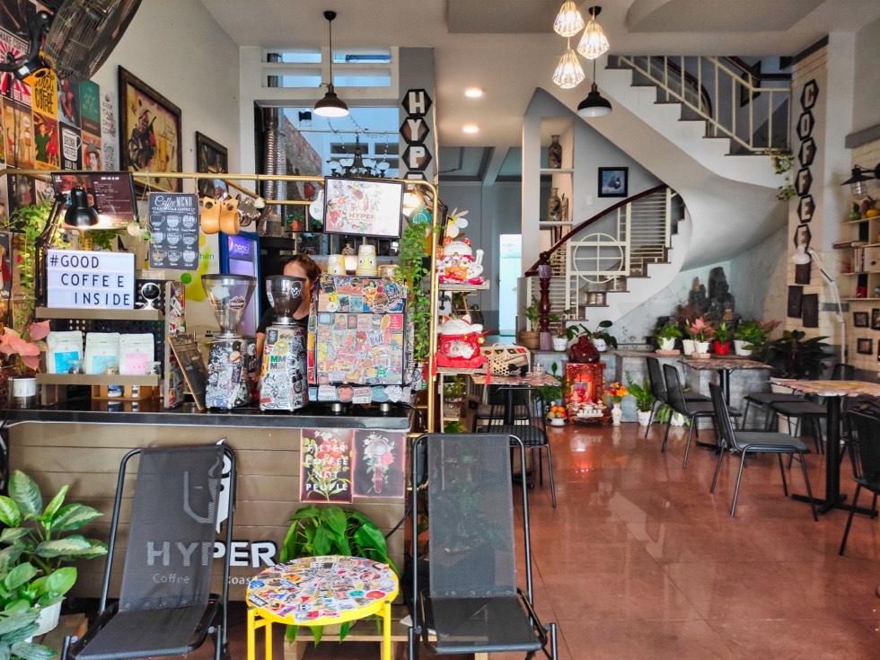 Hyper Coffee Roastery Interior