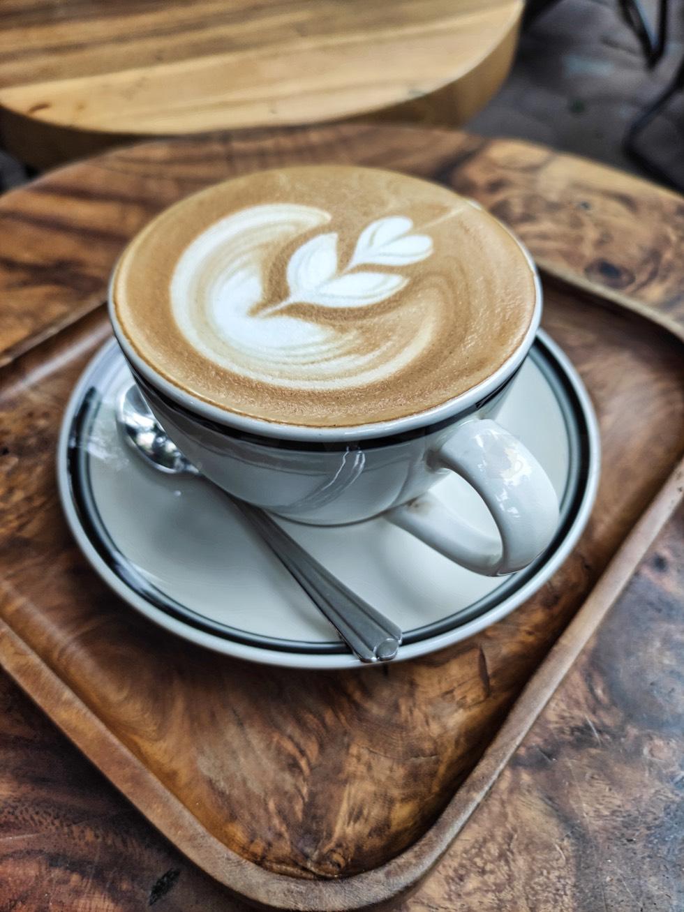 MONO Coffee Lab Closeup