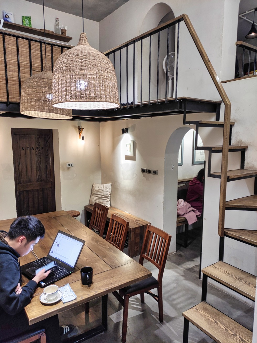 MONO Coffee Lab Stairs