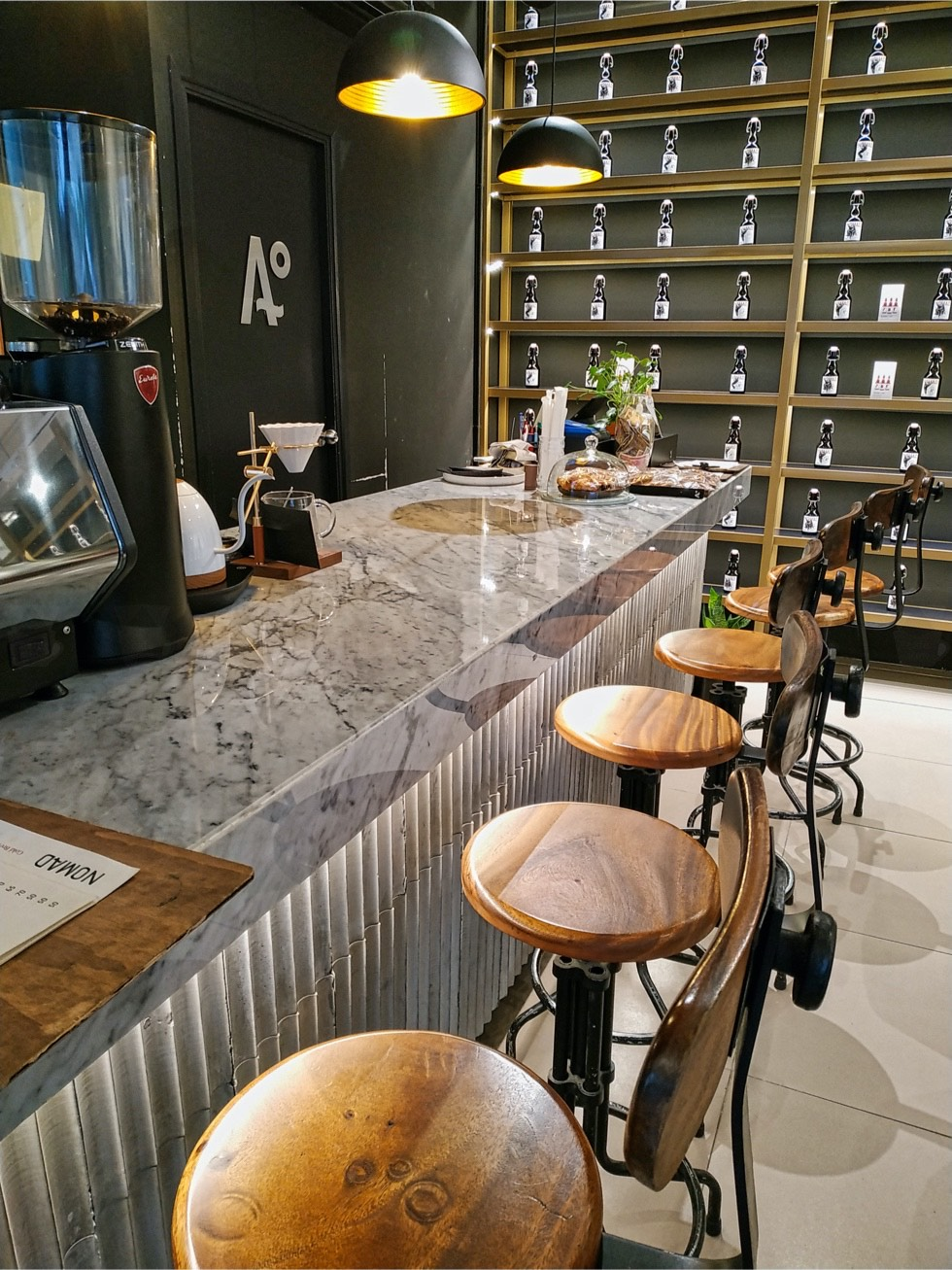 Nomad Cold Brew Coffee Counter