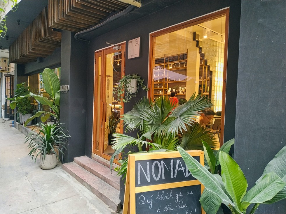Nomad Cold Brew Coffee Exterior