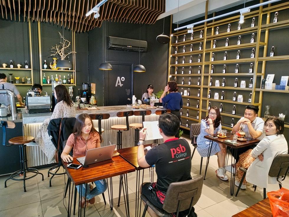 Nomad Cold Brew Coffee Interior