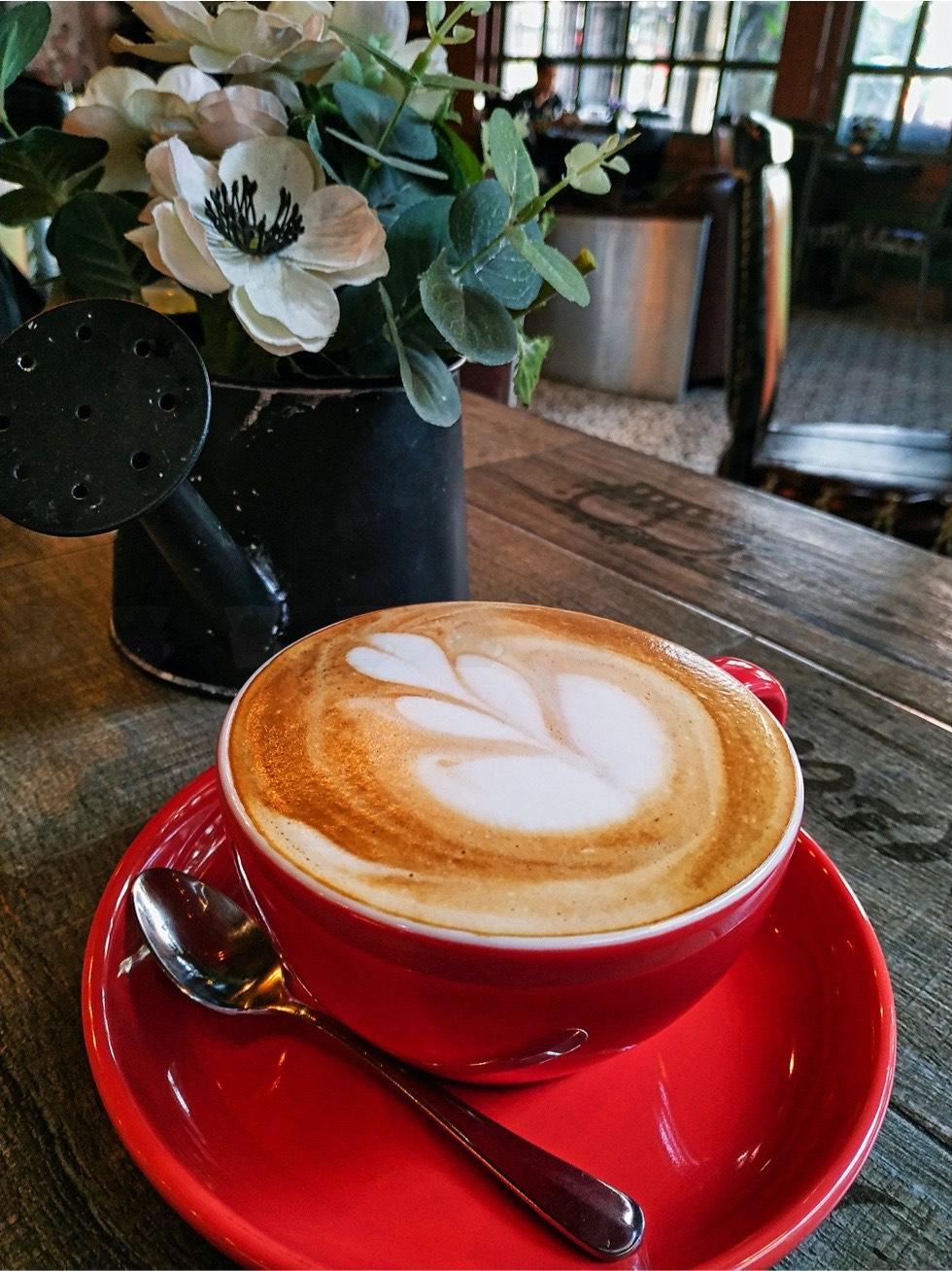 O'Hara Coffee Saloon Closeup
