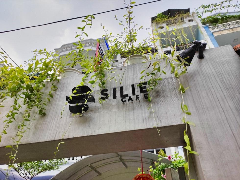Silie Cafe Signage