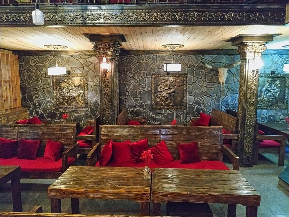 Stone Castle Cafe Interior