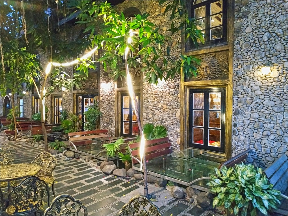Stone Castle Cafe Night