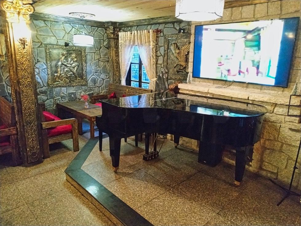 Stone Castle Cafe Piano