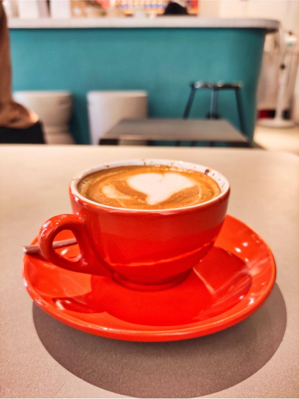 The Feine Cafe Closeup