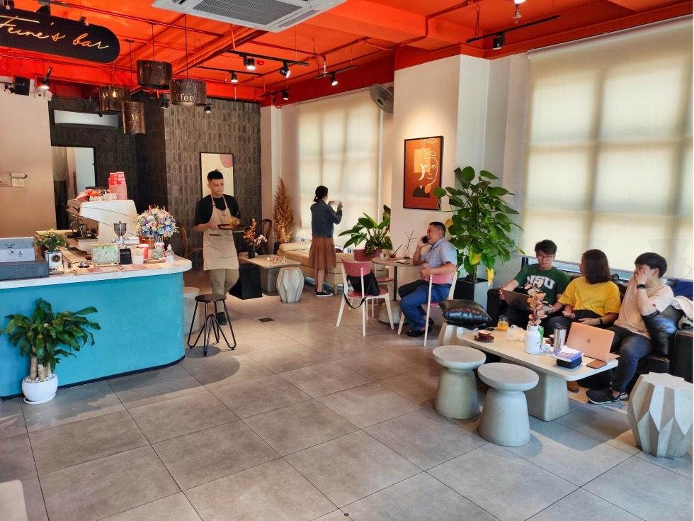 The Feine Cafe Interior