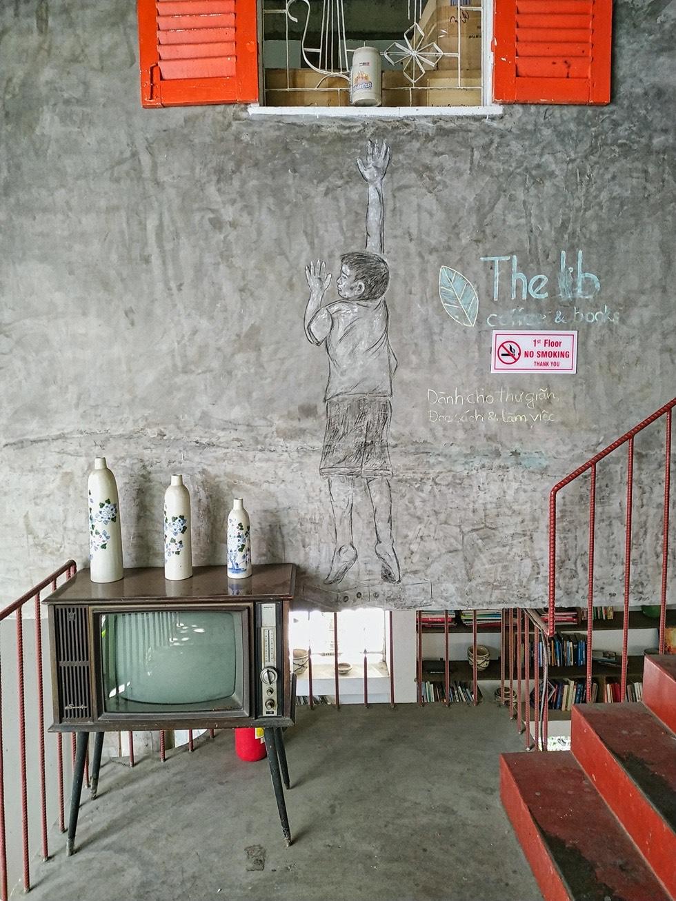 The LIB Coffee and Books Artistic