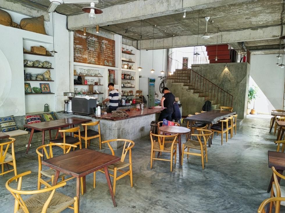 The LIB Coffee and Books Interior