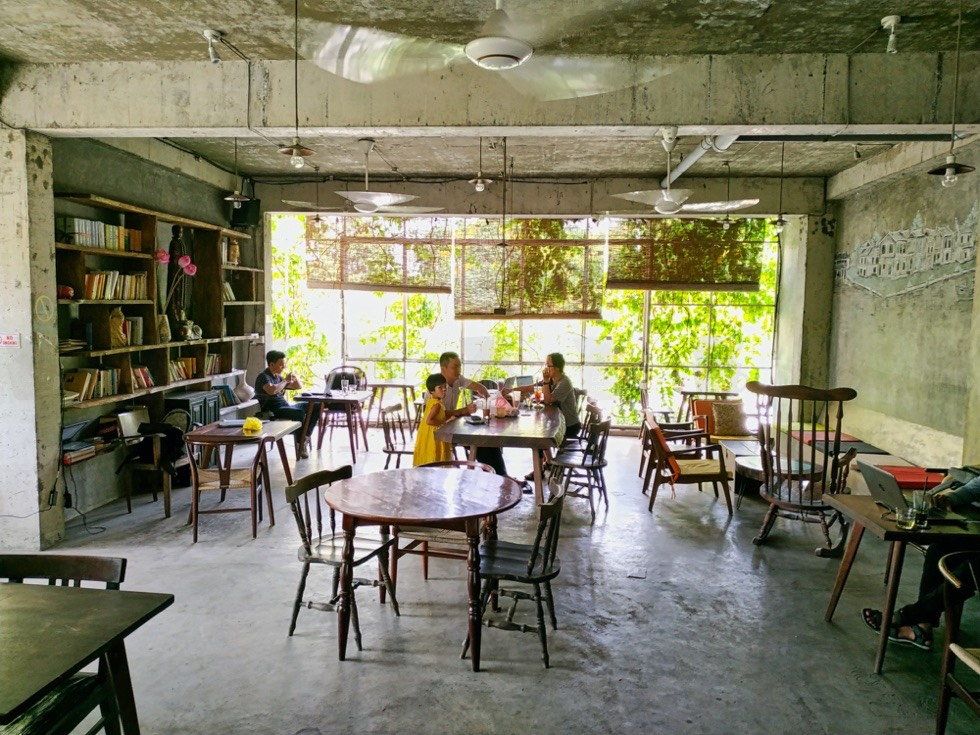 The LIB Coffee and Books Upstairs
